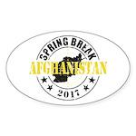 Spring Break Afghanistan Sticker