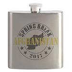 Spring Break Afghanistan Flask