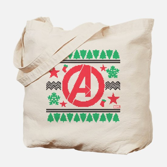 Avengers Ugly Christmas Tote Bag