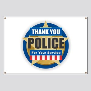 Thank You Police Banner