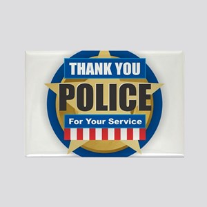 Thank You Police Magnets