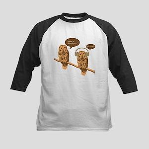 musical owls -  Baseball Jersey