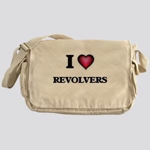 I Love Revolvers Messenger Bag