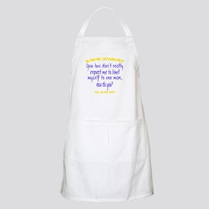 Blanche Quote - Limit Myself Apron