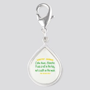 Dorothy Quote Roll in the H Silver Teardrop Charm