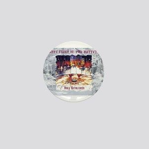 Nativity Bethlehem 1 Mini Button