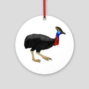 ALERT Round Ornament