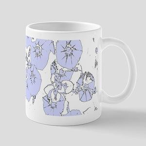 Blue Petunias Mugs