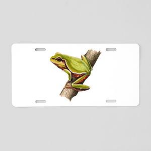 ALERT Aluminum License Plate