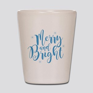 Merry and Bright Shot Glass