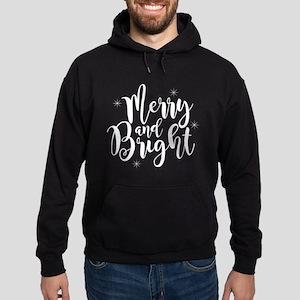 Merry and Bright Hoodie (dark)