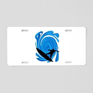SURF Aluminum License Plate