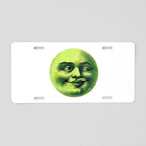 SMILE Aluminum License Plate