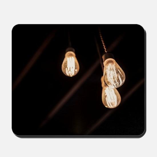 Light Bulbs Mousepad