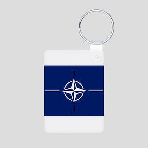 Flag of NATO Keychains