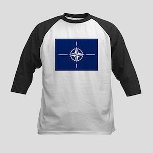 Flag of NATO Baseball Jersey