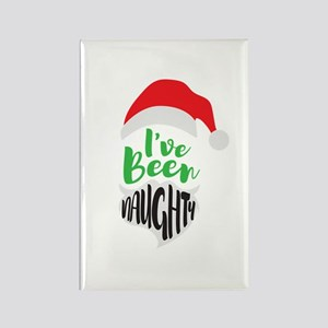I've Been Naughty Rectangle Magnet