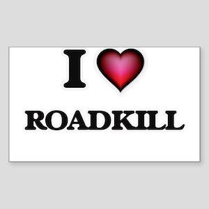 I Love Roadkill Sticker