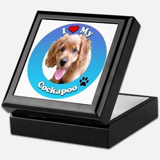Cute Dog mutt Keepsake Box
