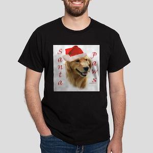 Santa Paws Golden Ash Grey T-Shirt