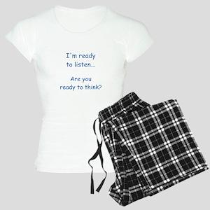 ...ready to listen... Women's Light Pajamas