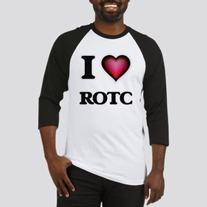 I Love Rotc Baseball Jersey