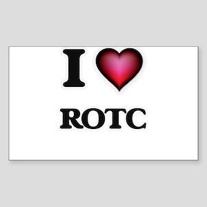 I Love Rotc Sticker