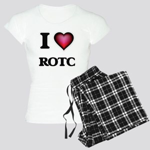 I Love Rotc Women's Light Pajamas