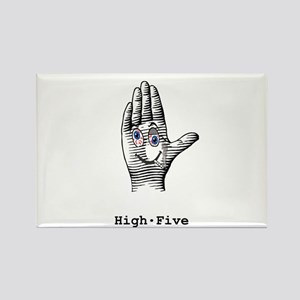 High Five Rectangle Magnet