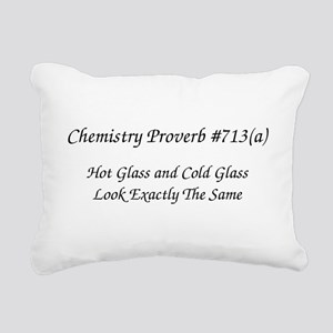 Chemistry Humor Rectangular Canvas Pillow