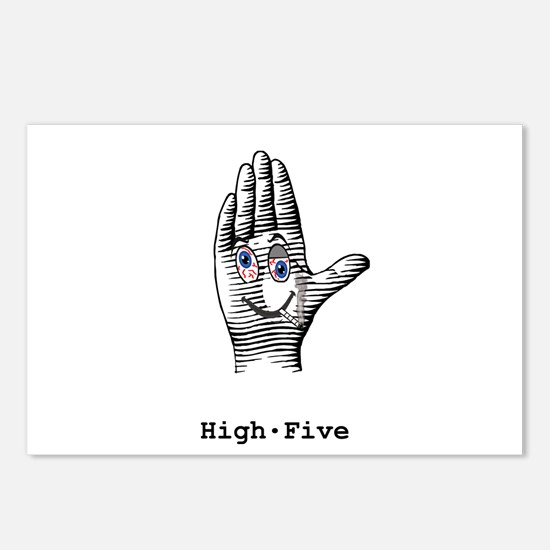 High Five Postcards (Package of 8)