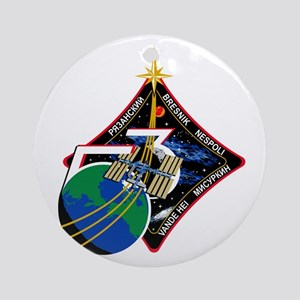 Expedition 53 NEW Round Ornament