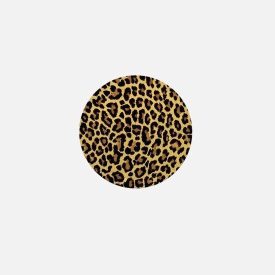Cute Leopard Mini Button