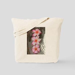 pink Hawaiian flow Tote Bag