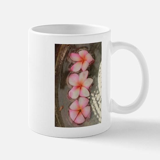 pink Hawaiian flow Mugs