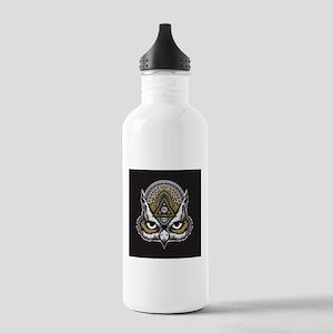 Owl Art Stainless Water Bottle 1.0L