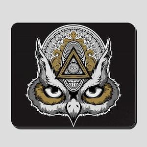 Owl Art Mousepad