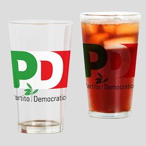 Partito Democratico Drinking Glass