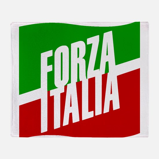 Forza Italia Throw Blanket