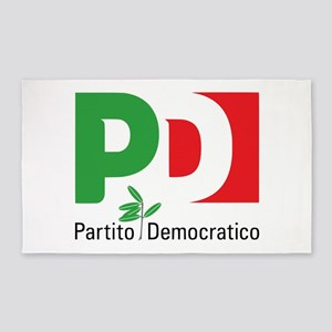 Partito Democratico Area Rug