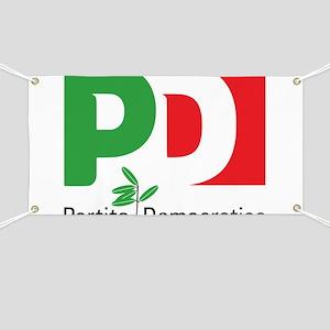 Partito Democratico Banner