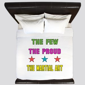 The Few, The Proud, The Martial arts King Duvet