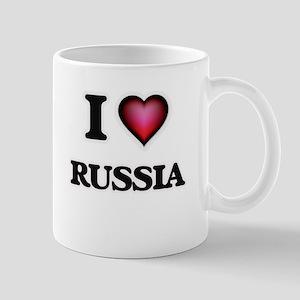 I Love Russia Mugs
