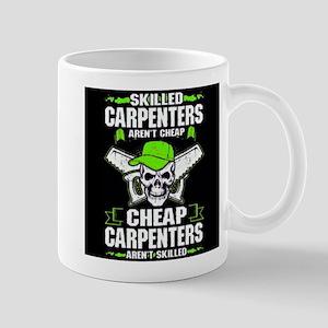 Skilled Carpenters skull Mugs