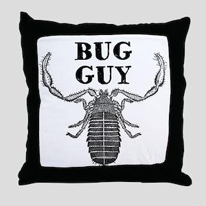 Bug Guy Throw Pillow
