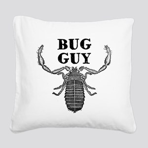 Bug Guy Square Canvas Pillow