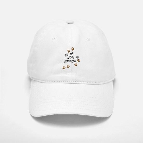 Ask Me About My Granddog Baseball Baseball Baseball Cap