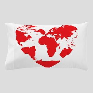 Love the World Pillow Case