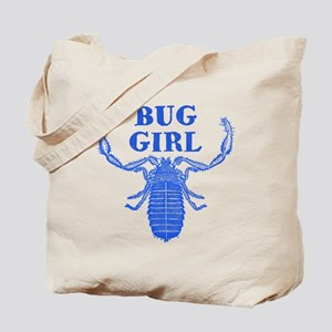 Bug Loving Girl Tote Bag