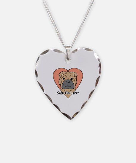 Cute Chinese shar pei Necklace